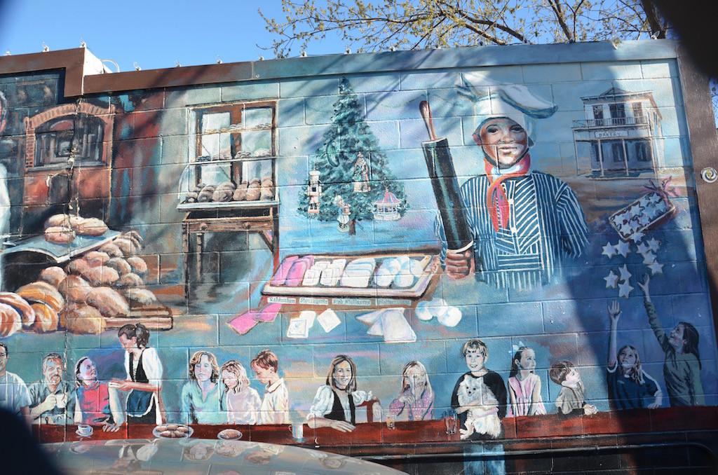New Braunfels legendary murals all over town