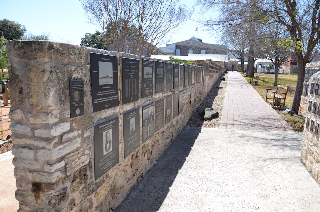 These plaques represent thousands of fallen men and women from WWII.