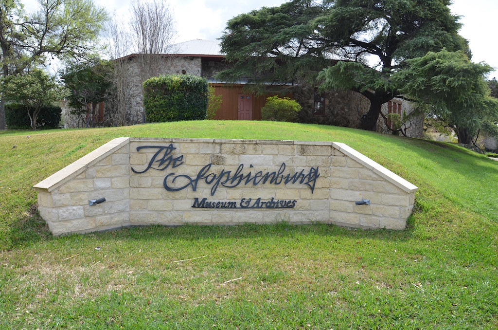 The Sophienburg Museum, a museum of the original settlers from Braunfels, Germany of New Braunfels in Texas