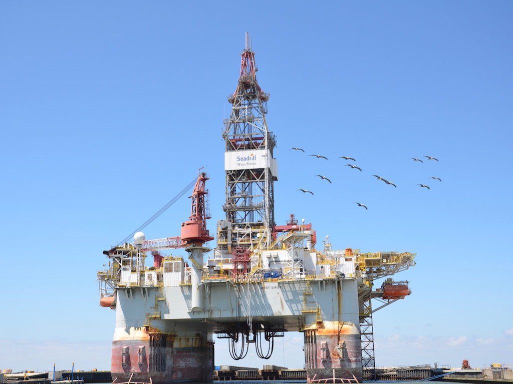 HUGE oil drilling rig. For sale, only $1.1B!!