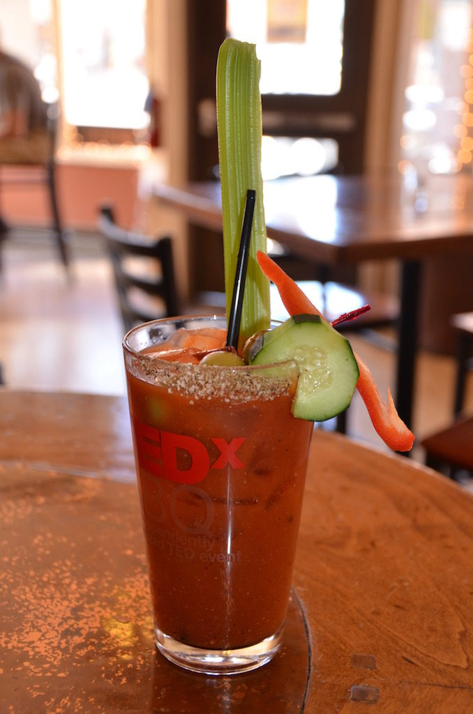 I even found a really good Bloody Mary at Toad Creek Bar & Grill
