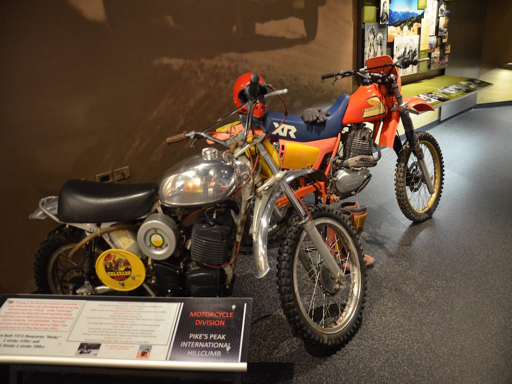 Robby Unser's dirt racers he used on the Pike Peak race