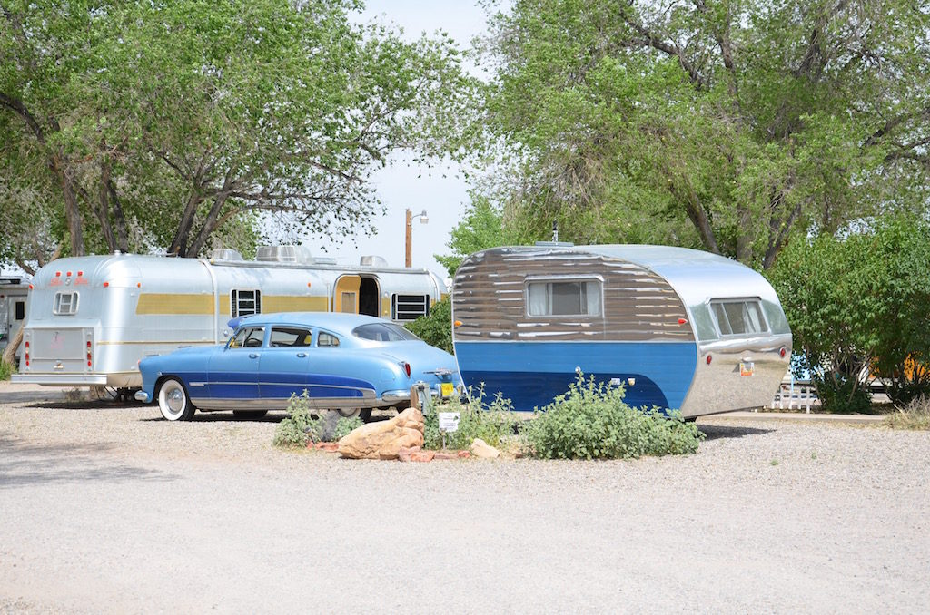 They even have a few vintage RV's you can rent
