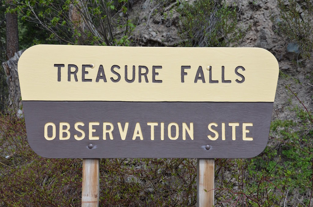 Treasure Falls, on the way there