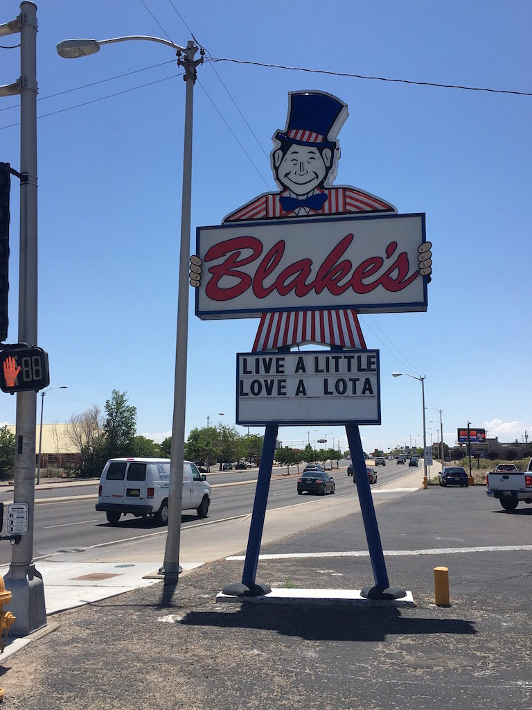 We also had lunch at Blake's Lotaburger because they're everywhere in NM; wasn't really impressed with the burgers, one step up from McDonalds I guess!