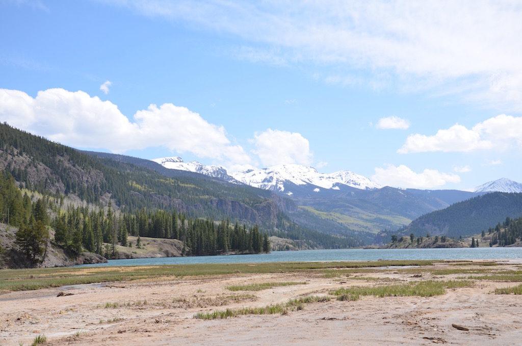 The lake at Lake City