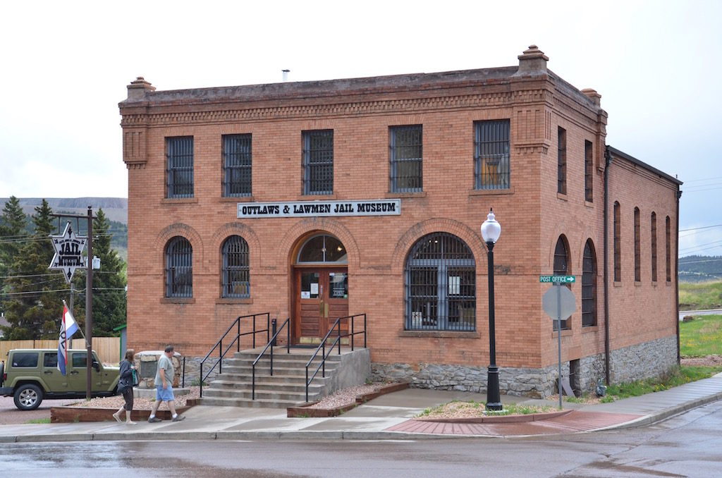 we visited the Cripple CreekJail Museum; it was an operating jail until 1992!