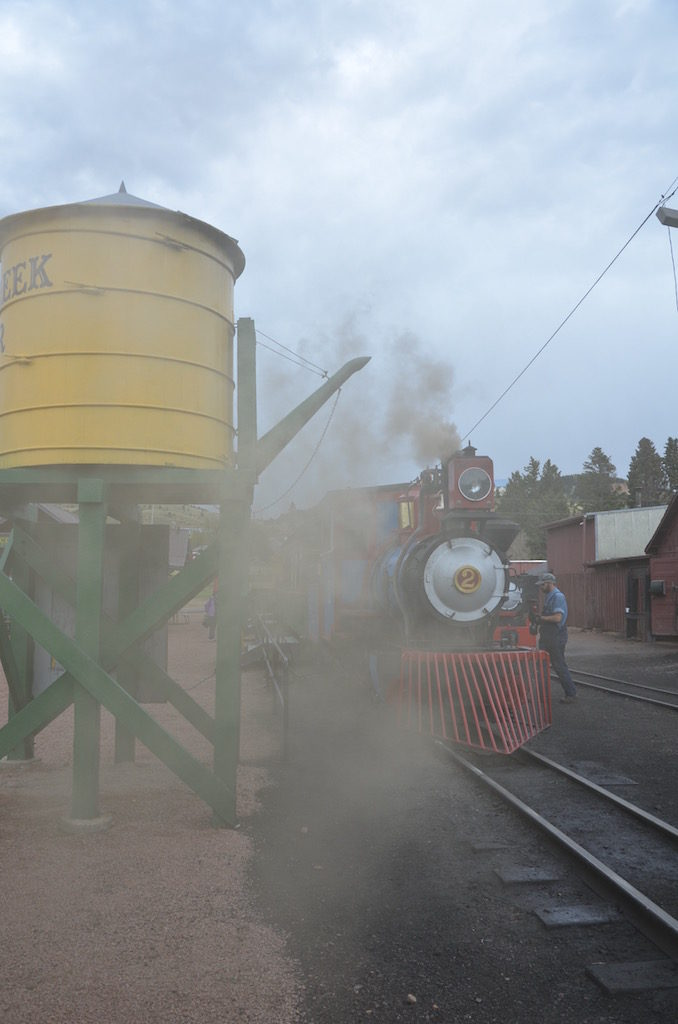 Lots of coal smoke and steam; loved it!