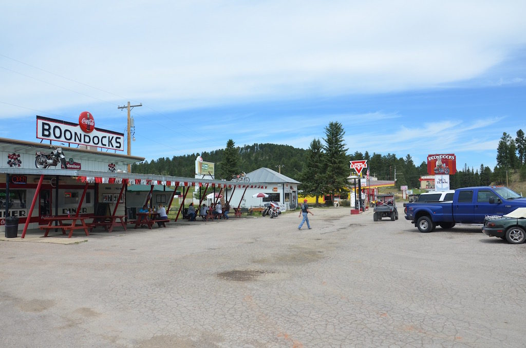 Stopped at this cool little diner in Spearfish Canyon