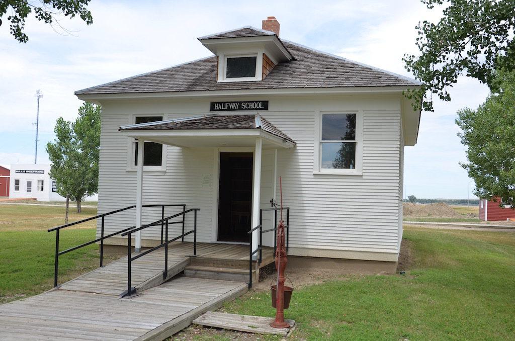 One room schoolhouse.