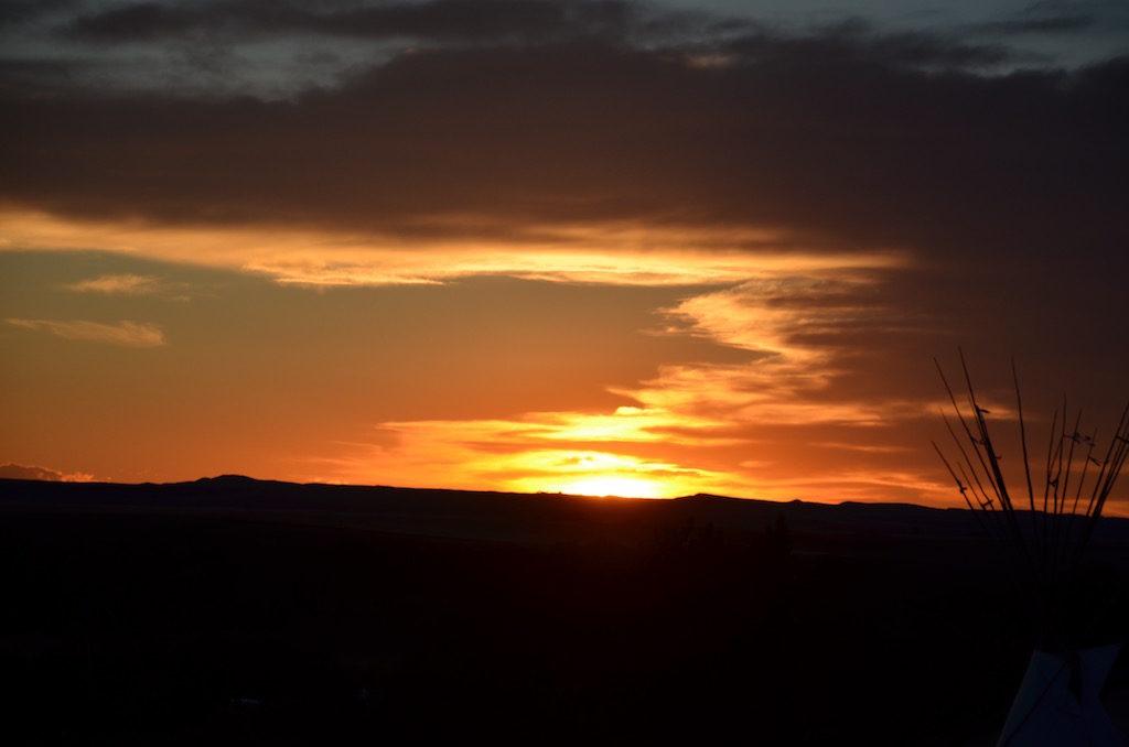 Signature Montana sunset