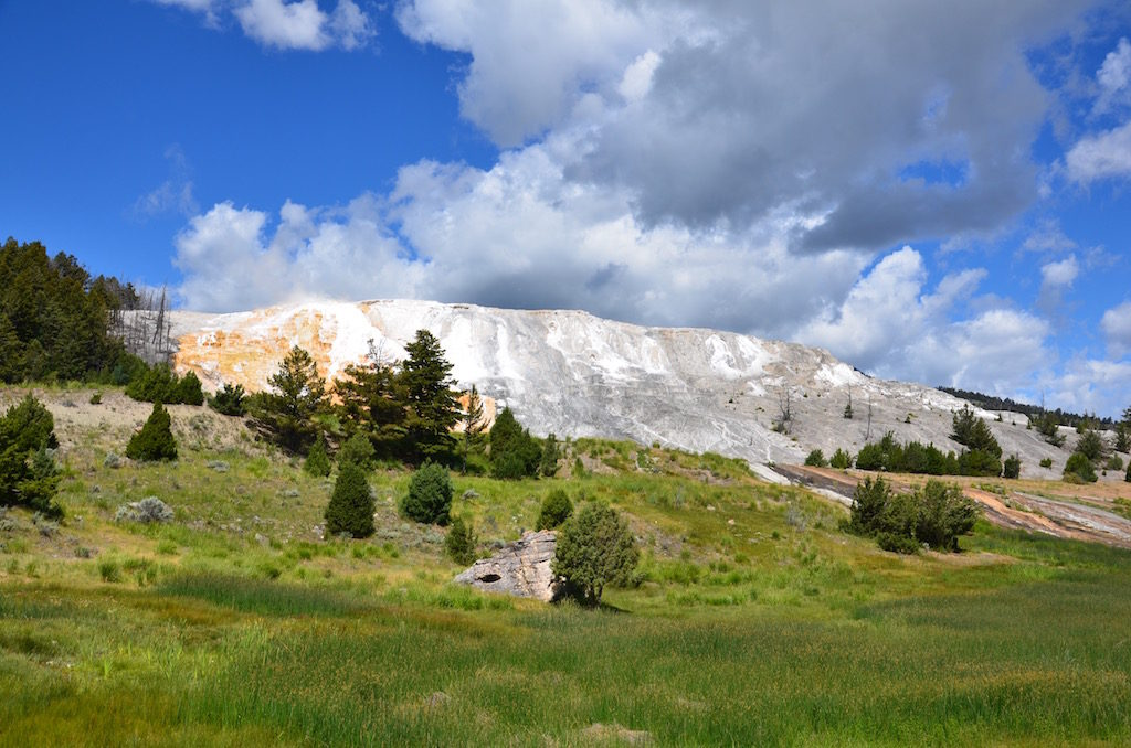 First was Mammoth Hot Springs (not to be confused with the Mammoth Hot Springs in California)