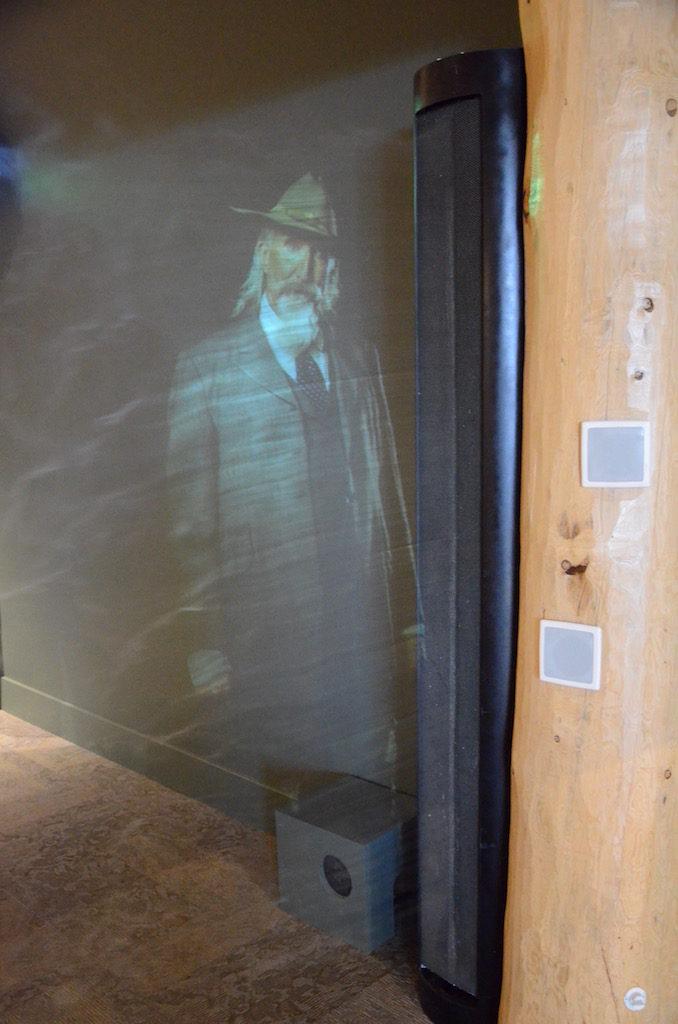 Buffalo Bill himself greets you at the entrance via a smoke hologram.