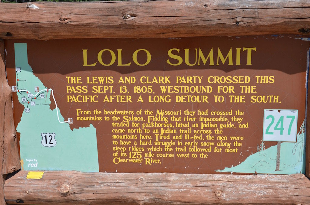 Another day we visited the Lolo Summit