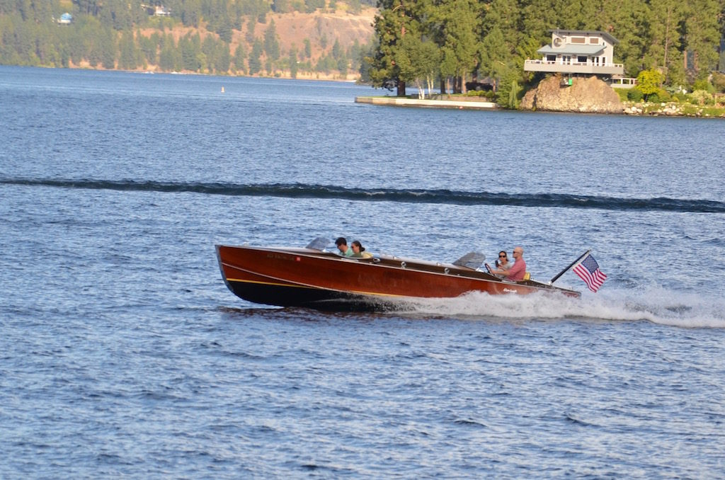 A few nice old wood boats too (Chris-Craft I believe)