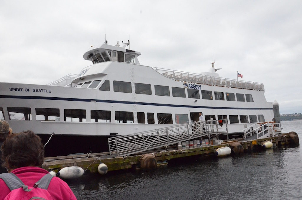 We took the harbor tour boat while in Seattle area. We stayed with our friends Doug and Cindy Lundvall in Bellevue just outside Seattle.