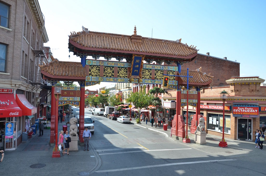 China town district.