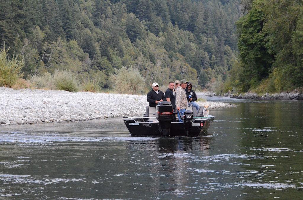 Local Salmon fishermen